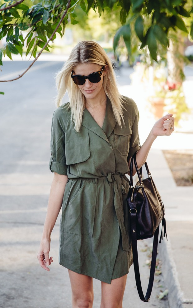 The Oh So Versatile Trench Dress
