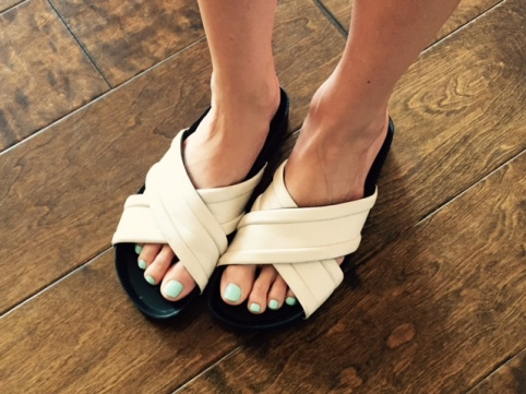 Slide on into this Casual Cool Shoe Trend