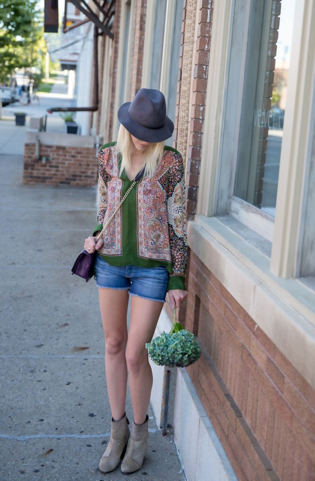 Boho Blouse and Booties