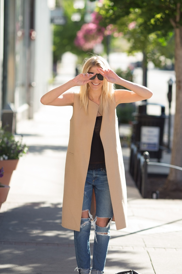 Try a Sleeveless Waistcoat this Fall